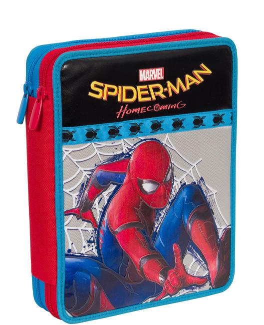 SPIDERMAN Maxi Case Complet avec tout pour l'école!