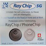 Tocrop Sarls Jeu de 2 puces RayGuard anti-5G Référence anti-ondes suisse... par LeGuide.com Publicité