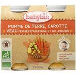 babybio  BABYBIO Pomme de Terre, Carotte et Veau Fermier d'Aquitaine... par LeGuide.com Publicité
