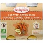 babybio  BABYBIO Carotte, Potimarron, Pomme et Canard Fermier du Poitou... par LeGuide.com Publicité