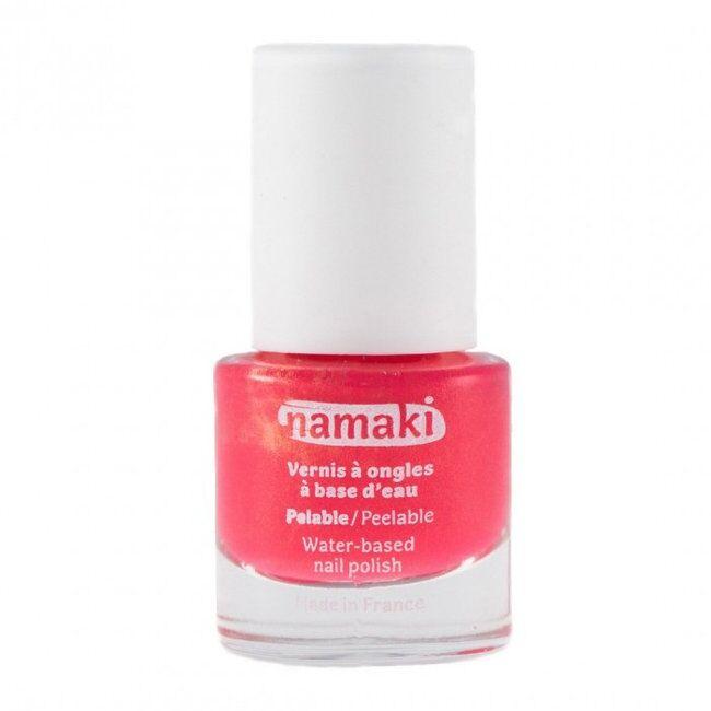 NAMAKI - Vernis à ongles pour enfant à base d'eau - 04 Corail 7,5ml