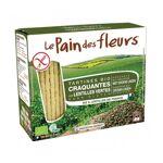 le pain des fleurs  LE PAIN DES FLEURS Tartines craquantes aux lentilles... par LeGuide.com Publicité