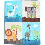 Fair Moms Boutis couvre-lit quilt animaux de la savane équitable et fait... par LeGuide.com Publicité