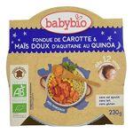 babybio  BABYBIO Fondue de Carotte, Maïs Doux d'Aquitaine et Quinoa... par LeGuide.com Publicité