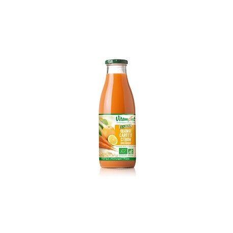 VITAMONT Cocktail Orange Carotte Citron Bio 0.75L-Vitamont
