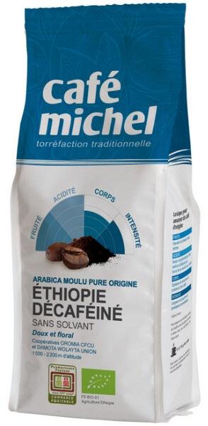 Relais Bio Café moulu ARABICA pure origine ETHIOPIE - décaféïné sans...