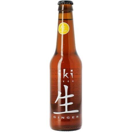 Relais Bio Bière Bio au Gingembre - 33cl - Iki Beer