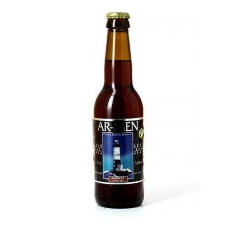 Relais Bio Bière Ambrée au Blé Noir - 33cl - Ar-Men