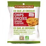 ethiquable  ETHIQUABLE Chips ÉPICÉES Banane Plantain bio & équitable... par LeGuide.com Publicité