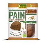 gaia  Gaia Pain de céréales germées Seigle 500g C?est un pain fabriqué... par LeGuide.com Publicité