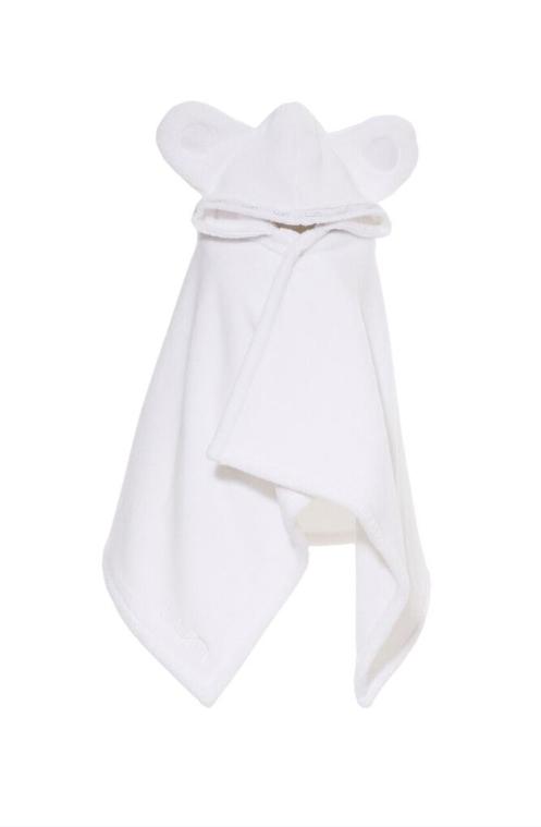 LUIN LIVING - Serviette-cape bébé/enfant 0-5 ans SNOW