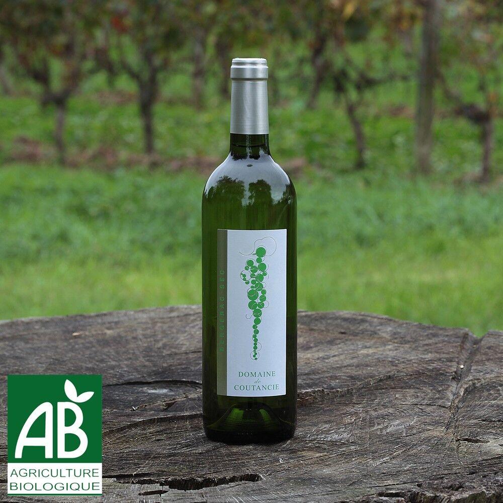 Nature viande - Domaine de la Coutancie Domaine de coutancie vin blanc sec 2016 x1