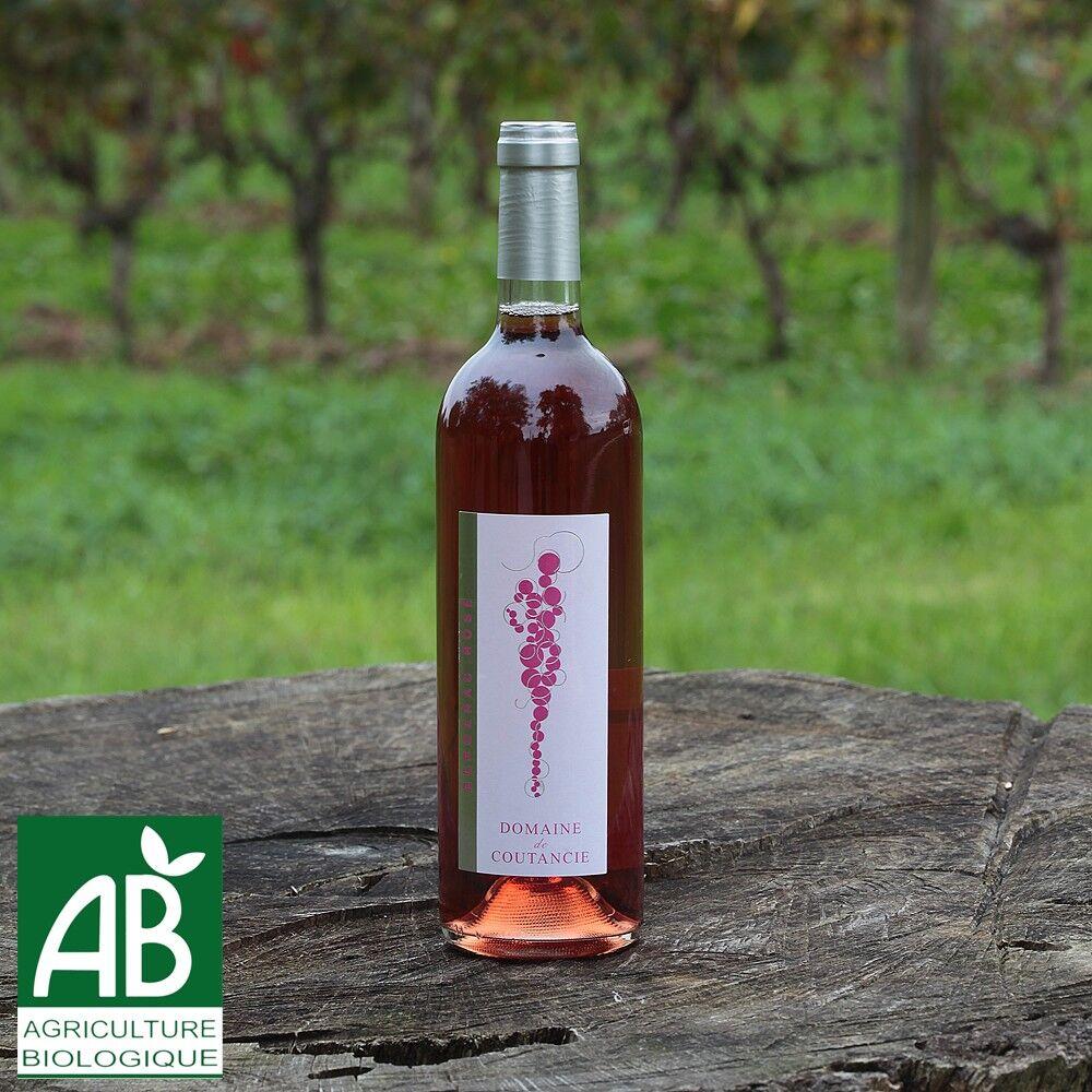 Nature viande - Domaine de la Coutancie Domaine de coutancie vin rosé 2016 x1