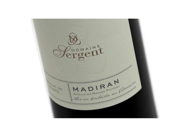 Domaine Sergent Madiran 2017 Cuvée Tradition - 1 bouteille
