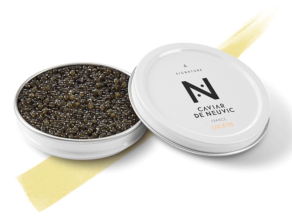 Caviar de Neuvic Caviar Osciètre Signature France 100g