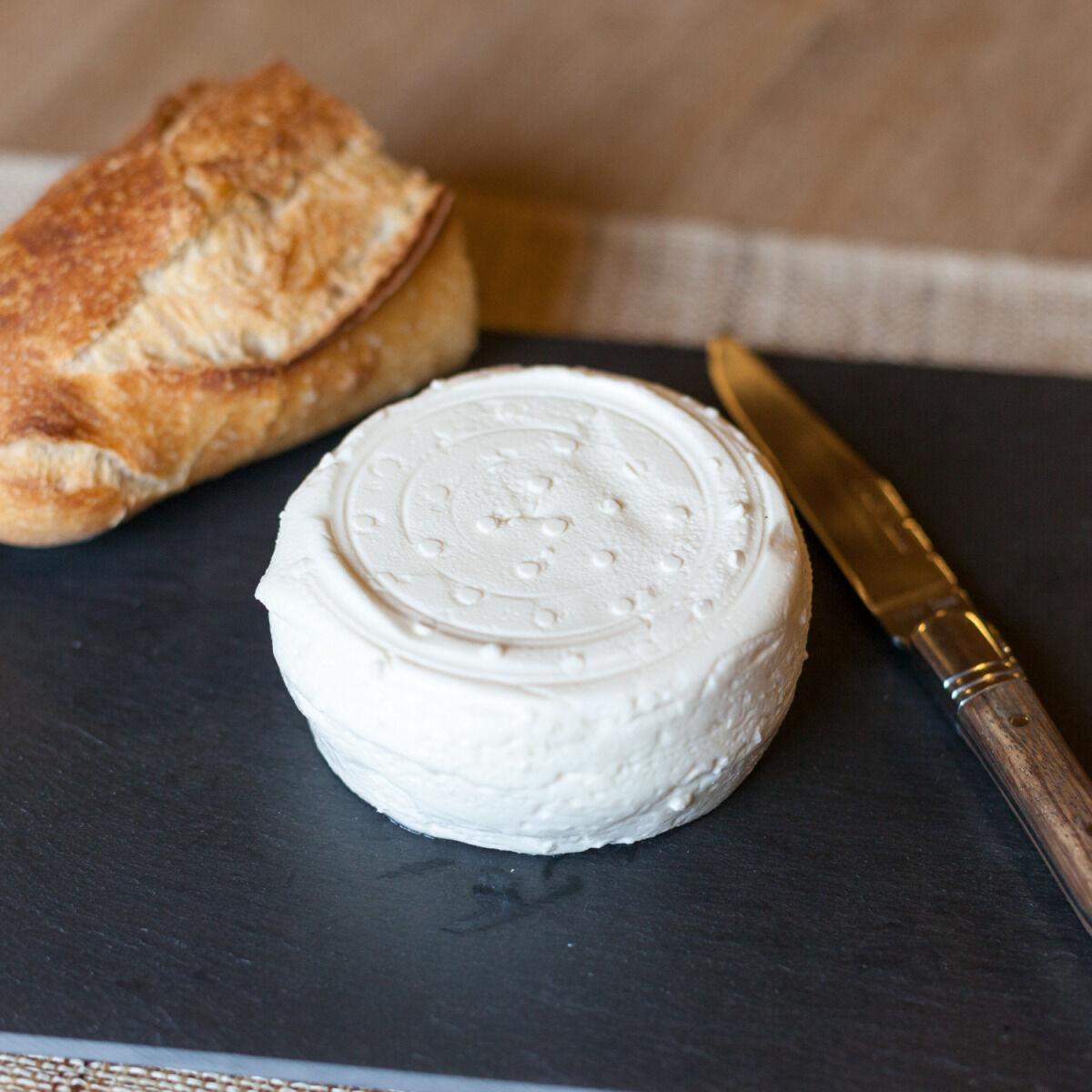 Ferme de Montchervet Fromage Cœur de crème frais, 120g