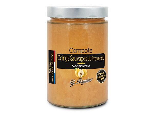 Conserves Guintrand Compote De Coing Sauvage De Provence Yr - Bocal 580ml