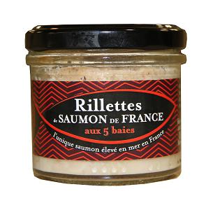 Saumon de France Rillettes De Saumon De France 5 Baies