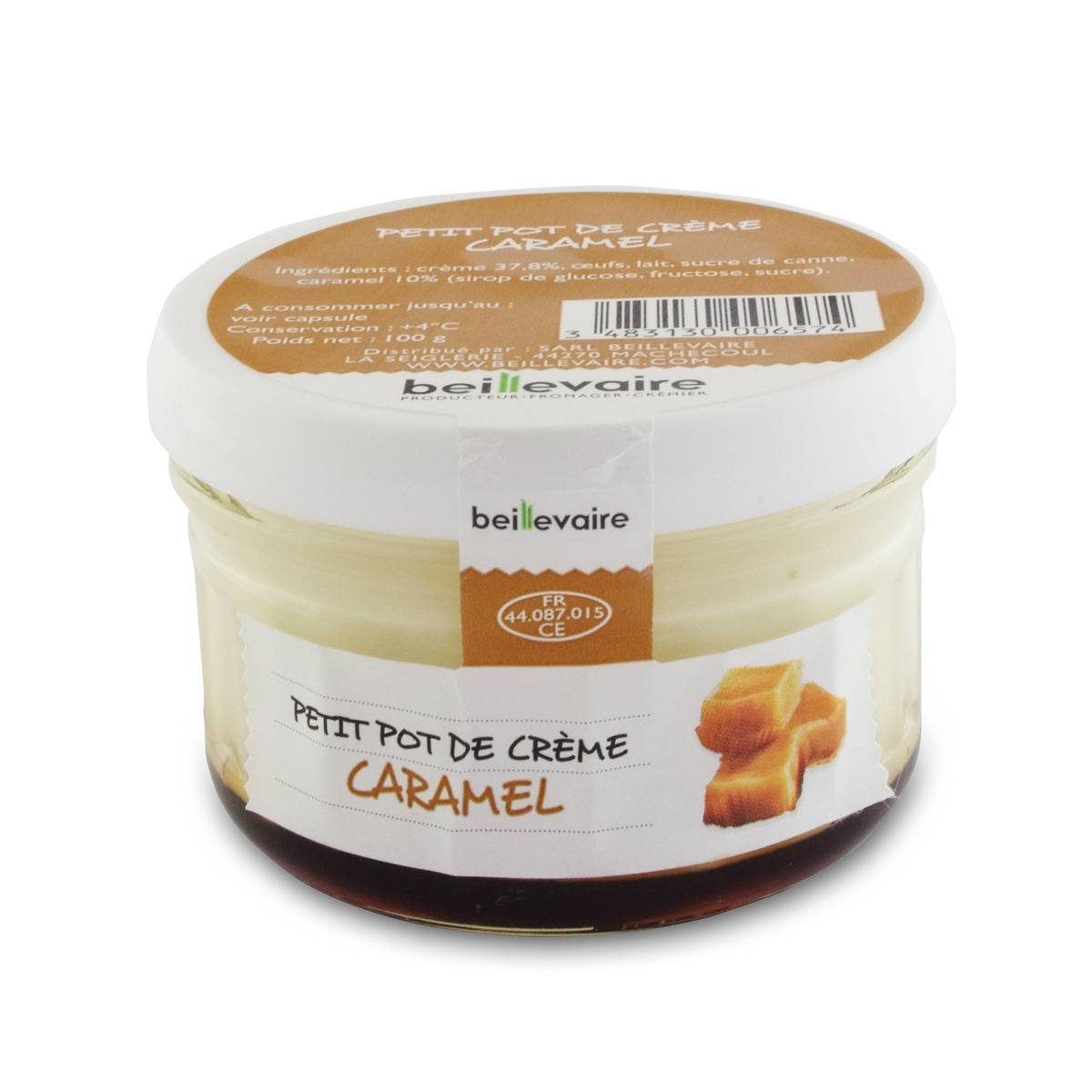 BEILLEVAIRE Petit pot de crème - Caramel