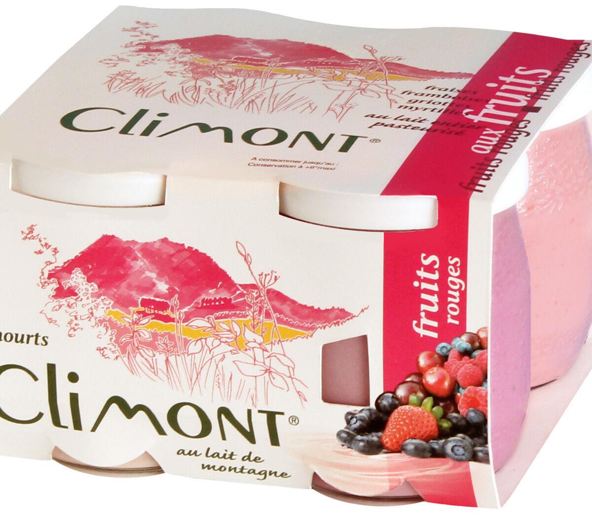 Laiterie du Climont - K-Philus Plateau De 12 Yaourts Climont Aux Fruits