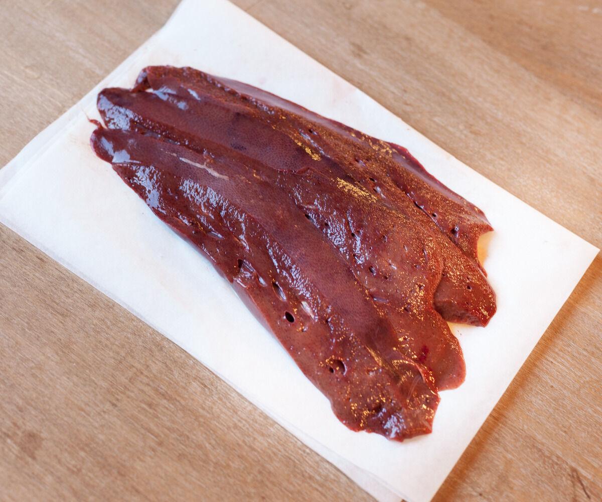 Ferme de Montchervet Foie de Porc Tranché X 2 Tranches, 200g