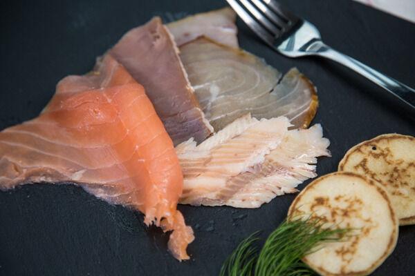 Olsen Assiette scandinave aux 5 poissons fumés 120g