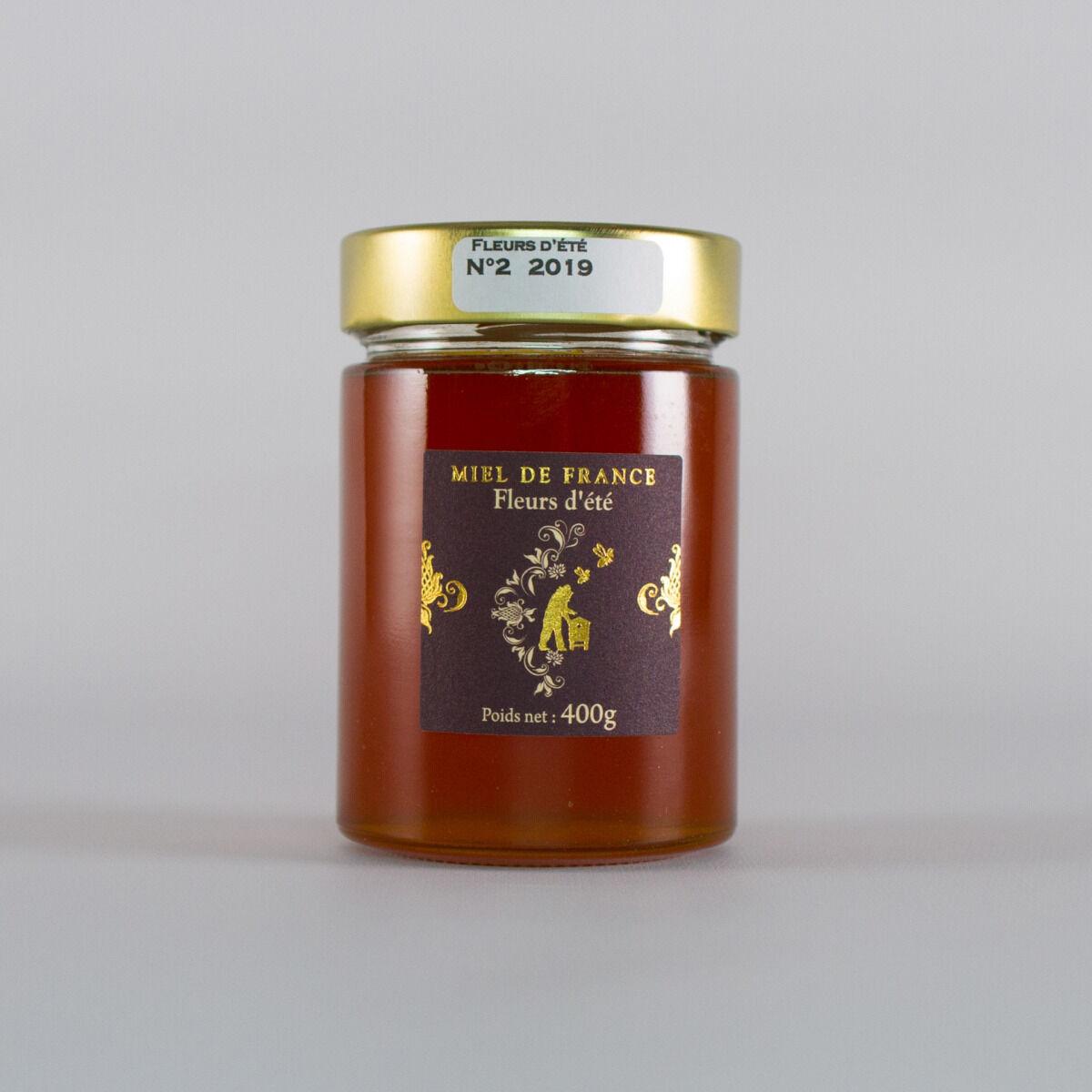 Domaine Apicole du Pillardon Miel De France Fleurs d'Été n°2 Récolte 2019 400g