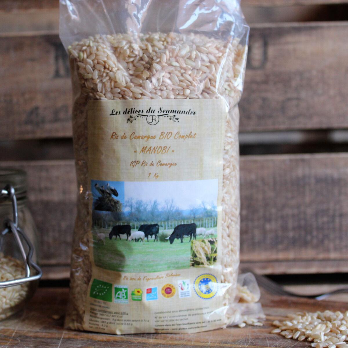 Les Délices du Scamandre Riz Bio Complet