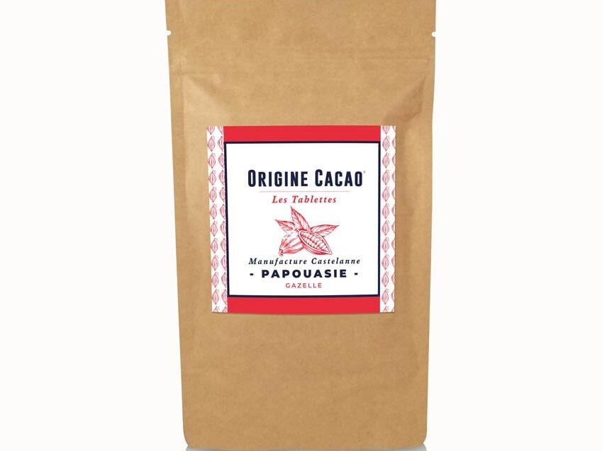 Maison Castelanne Chocolat Tablette Papouasie - Png - Gazelle - 74%- Fèves Origine Bio