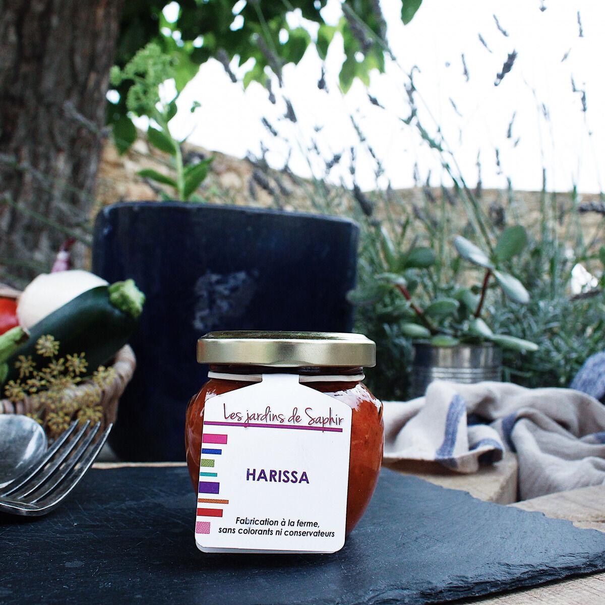 Les Jardins de Saphir Harissa 90g