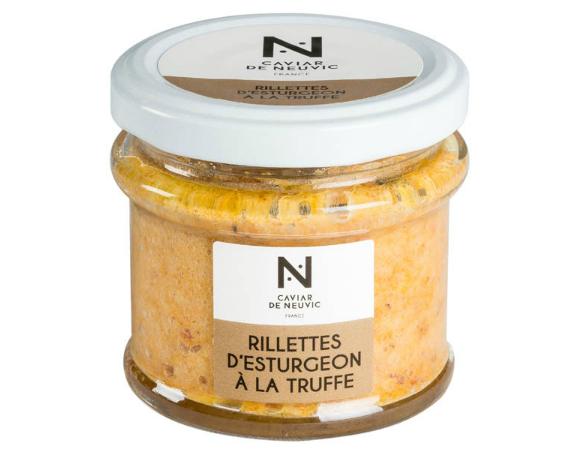 Caviar de Neuvic Rillettes D'esturgeon À La Truffe D'été