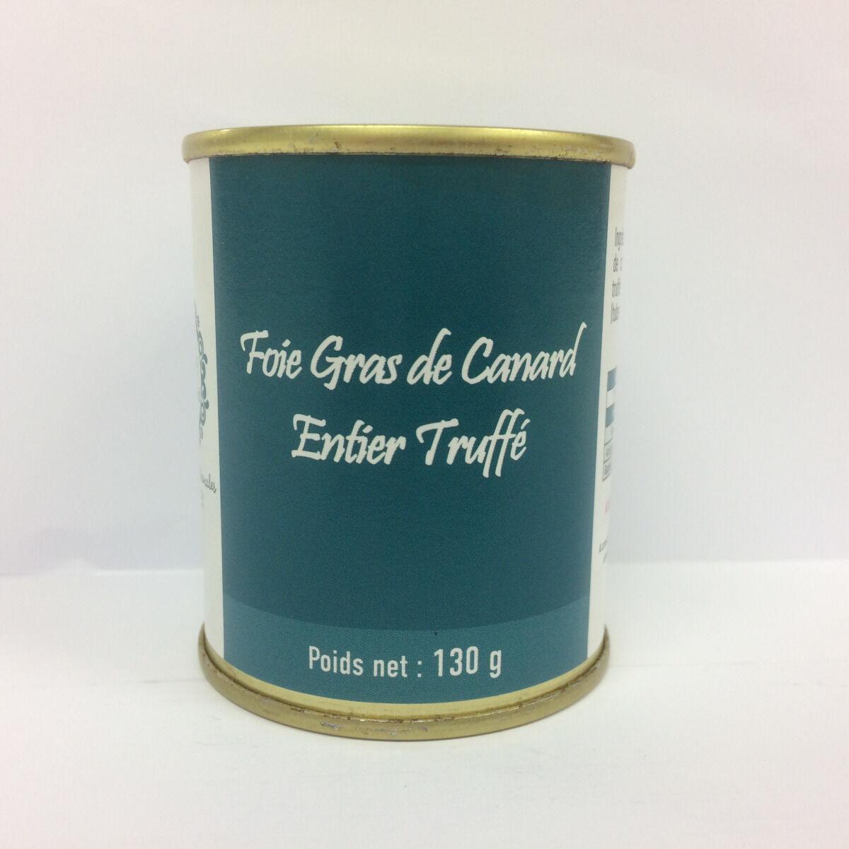 A la Truffe du Périgord Foie Gras De Canard Entier Truffé 130g