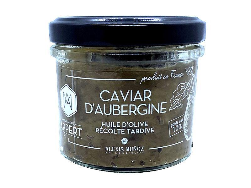Monsieur Appert Caviar D'aubergine / Huile D'olive Récolte Tardive De A. Munoz