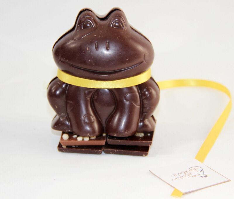 Mon Jardin Chocolaté Grenouille De Pâques Chocolat Noir