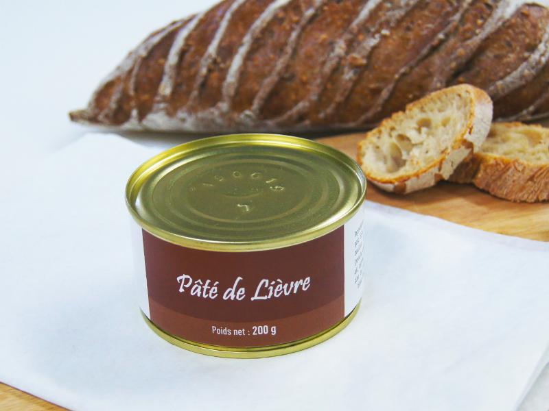 A la Truffe du Périgord Pâté De Lièvre 200g