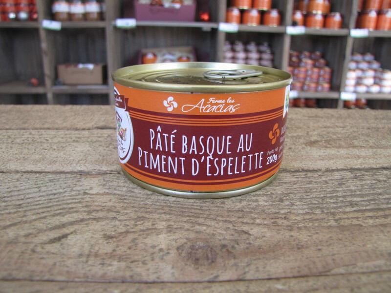 Ferme les Acacias Pâté Basque au Piment d'Espelette