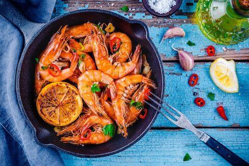 Ô'Poisson Crevettes Sauvages Cuites Grosses - Les 500g
