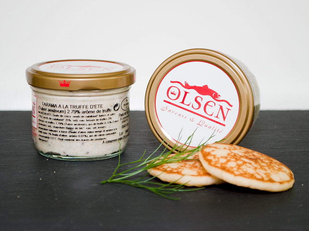 Olsen Tarama à la truffe d'été (3%), verrine 90g
