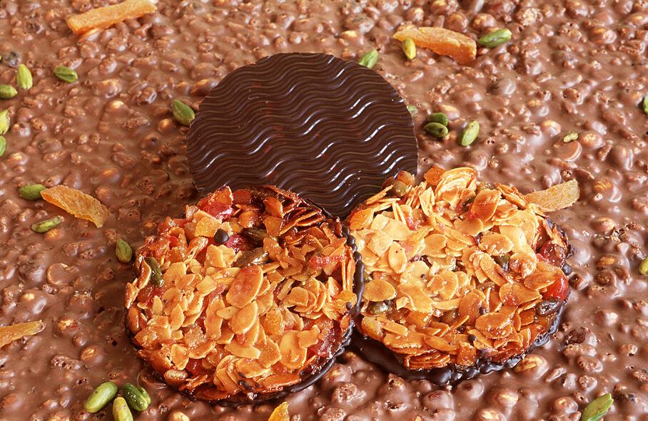 Philippe Segond MOF Pâtissier-Confiseur 6 Florentins Au Chocolat Noir