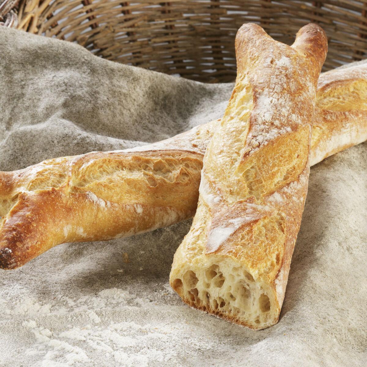 Maison Boulanger 1/2 Baguette Sarmentine Pré-cuite Surgelée *3