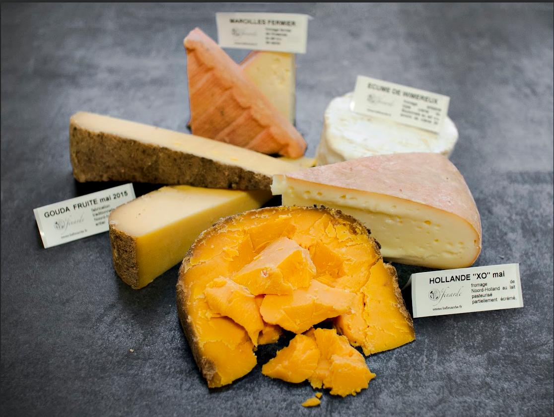 La Finarde Plateau de 5 fromages : saveurs des Bas Pays