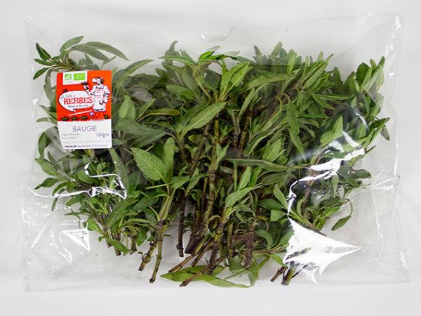 La Boite à Herbes Sauge Fraîche - Sachet 50g