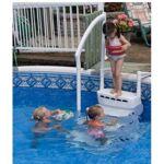 Escalier piscine hors sol AQUARIUS PVC - 5010 L'escalier AQUARIUS... par LeGuide.com Publicité
