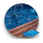 Piscinelle Bâche à bulle 400 µ LUXE compatible Piscinelle RG8 : Octogonale... par LeGuide.com Publicité