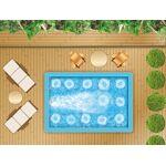 Piscine en kit bloc polystyrene 4 x 2 m + nage à contre courant Ce kit... par LeGuide.com Publicité