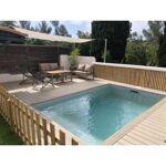 Piscine en kit béton carré 6 x 6 m LUXE Piscine en kit béton Piscine... par LeGuide.com Publicité