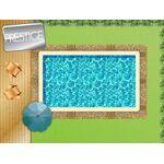 Piscine en kit bloc polystyrène 8 x 4 m + bloc filtrant 18 m³ Le système... par LeGuide.com Publicité