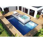 Kit piscine Luxe - Poseidon 8 x 4 x 1.50 m + 2 x 2 x 0.50 m Voici notre... par LeGuide.com Publicité