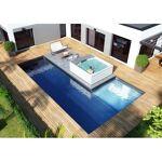 Kit piscine Luxe - Poseidon 10 x 5 x 1.50 m + 3 x 3 x 0.50 m Voici notre... par LeGuide.com Publicité