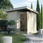 weka  WEKA Abri jardin en bois Quinta L'abri à toit plat Quinta séduit... par LeGuide.com Publicité